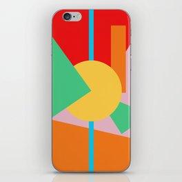 Circle Series - Summer Palette No. 4 iPhone Skin