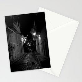 Night Cat Stationery Cards