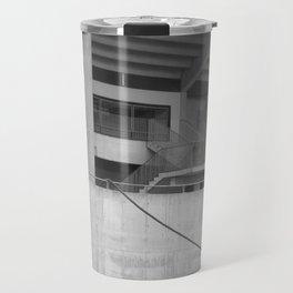 katowice stadion, texture photography, architecture Travel Mug