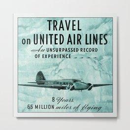 Aviation Art 46 Metal Print