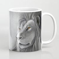 simba Mugs featuring The Lion King by Puddingshades