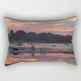 Sunset At The Cove Rectangular Pillow