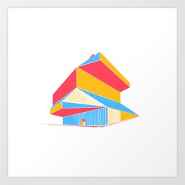 Rem Koolhaas - Seattle Central Library Art Print