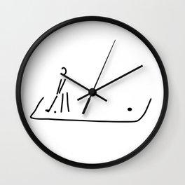 Mini-golf golf Garden golf Road golf Wall Clock
