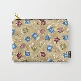 Cozy Mugs - Bg Macchiato Carry-All Pouch
