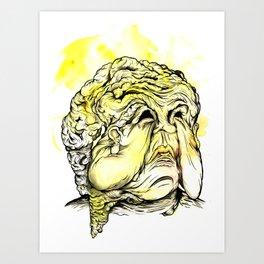 Mr. Bulldog Art Print