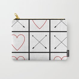 10282 Tic tac toe love Carry-All Pouch