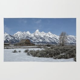 John Moulton Barn and the Grand Tetons Rug