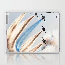 airshow aircraft sky Laptop & iPad Skin