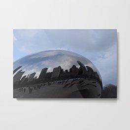 Cloud gate at Chicago Metal Print
