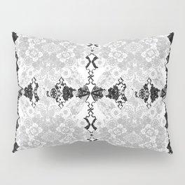 Delicate Castle Curtain Lace Pillow Sham