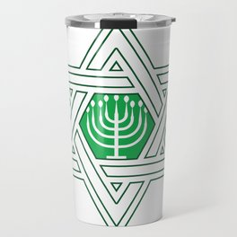 Israel Jews Menoa Jew It Funny Faith Gift Travel Mug