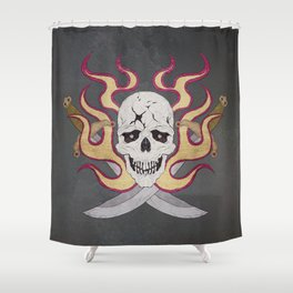 Paul Phoenix Shower Curtain