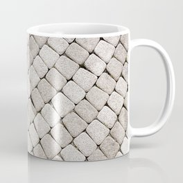 Pattern stone pavement Coffee Mug