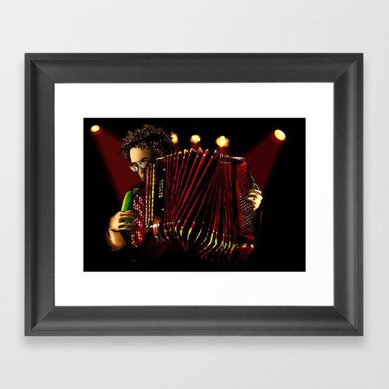 Concertina Framed Art Print