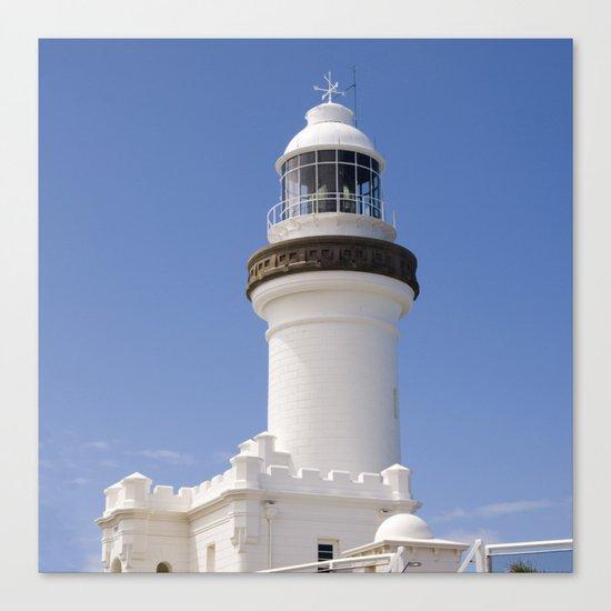 Byron Bay Lighthouse blue Sky Canvas Print