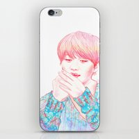 shinee iPhone & iPod Skins featuring SHINee Taemin by sophillustration