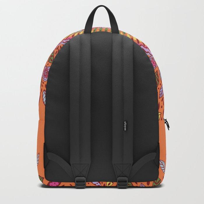 Pumpkin Bloom Backpack