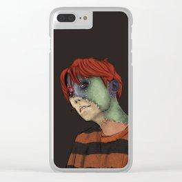 Ragdoll Hobi Clear iPhone Case