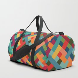 Weave Pattern Duffle Bag