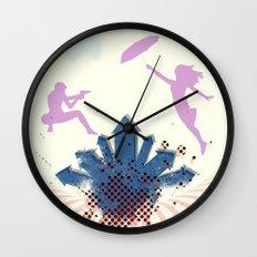 Bang Bang Wall Clock