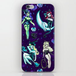 Witches and Black Cats iPhone Skin