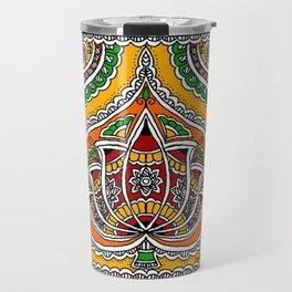 Lotus on Paan Travel Mug