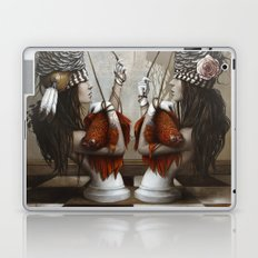 Les Cavalières Blanches Laptop & iPad Skin