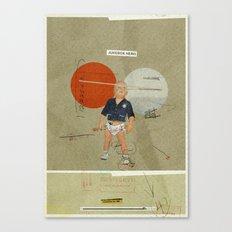 Jukebox Hero | Collage Canvas Print