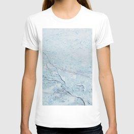 Light Blue Marble T-shirt