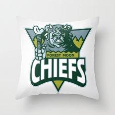 Forest Moon Chiefs Throw Pillow