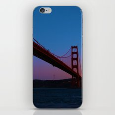 Golden Gate Bridge at Sunset -- San Francisco iPhone & iPod Skin