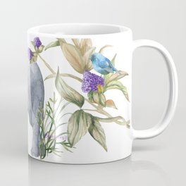 Elephants On Parade Illustration - Bagaceous Coffee Mug