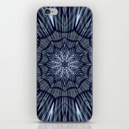Winter mood mandala iPhone Skin