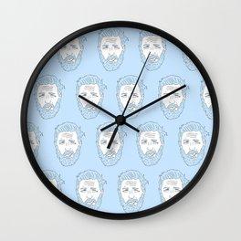 Hardy azzurro Wall Clock