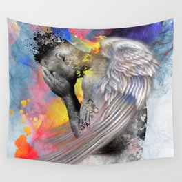 angel male nude Wall Tapestry