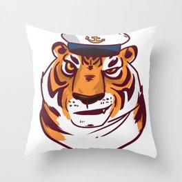 Seafarer adventure gift explorer conqueror Throw Pillow