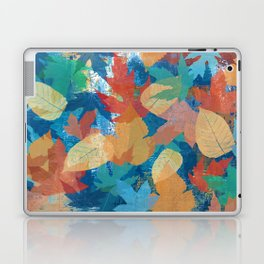 Colorful fall leaves Laptop & iPad Skin