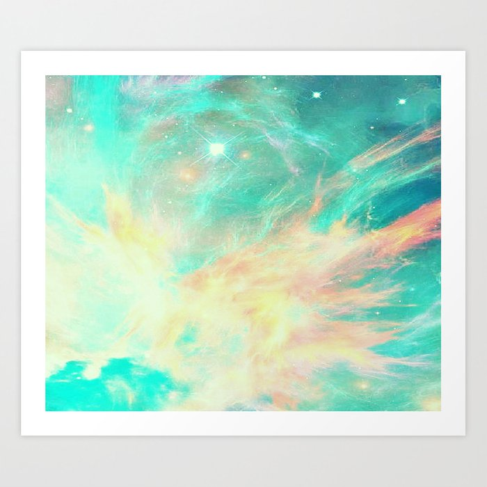 Earth phoenix Art Print