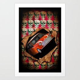 Mini Burst Art Print