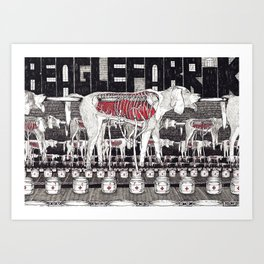 The Beagle Factory Art Print