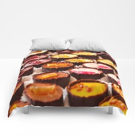 Chocolates in LOVE  Comforters