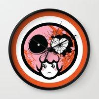 pagan Wall Clocks featuring Pagan Helladay by Pagan Holladay