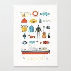 The Captain Jacques Kit Canvas Print