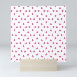 Johnny Joestar Pattern (White bg) Mini Art Print