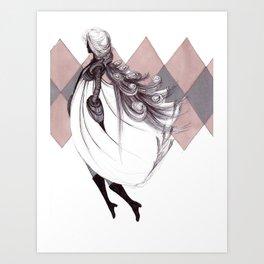WINTER QUEEN Art Print