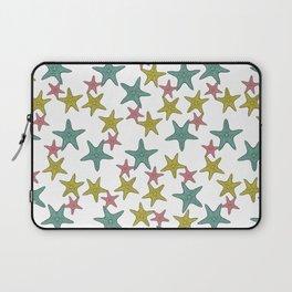 starfish tropical print Laptop Sleeve