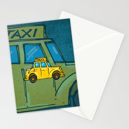 Taxi Stationery Cards