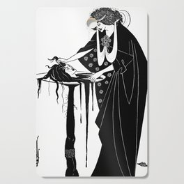 The Dancers Reward - By Aubrey Beardsley - Vintage Art Nouveau Print Cutting Board