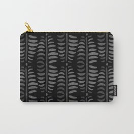 Helecho black pattern Carry-All Pouch
